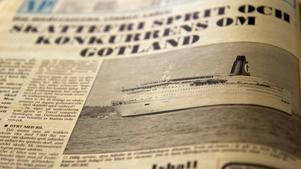 Gotlandsbåtarna hade kunnat åkt till Oxelösund i stället för till Nynäshamn. Moderaterna svarade med förslag om skattefri sprit.