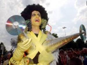 Pridefestivalen i Paris 2003. Foto: Scanpix