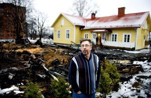 Stugknutens vd Björn Arvidsson var av förklarliga skäl nedstämd under måndagen. Men att ge upp finns inte med i bilden.