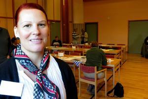 Malin Bergman (C), socialnämndens ordförande i Krokoms kommun.