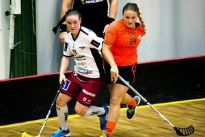 Ö-viks Frida Tjärnström gjorde lagets båda mål, men Sundsvalls IBF lyckades oftast effektivt stoppa motståndarlagets stjärna.