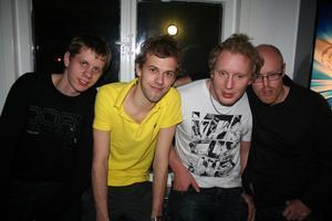 BMB. Kristoffer, Tomas, Jan och Patrik