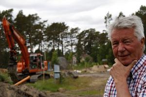 Mycket planer är det, för Paul Nilsson, som har två områden i Sörfjärden att ägna tankarna åt.