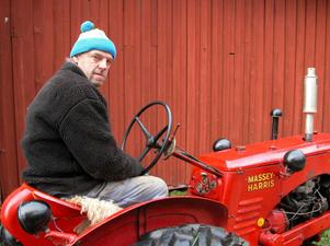 Sven Forsner har bott hela livet på gården.