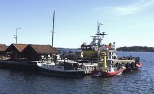 Norrtälje kommun miljonsatsar i Räfsnäs hamn. Redan nästa vår kan en ny brygga vara på plats hos Sjöräddningssällskapet.