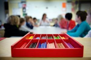 Insändarskribenten, som går på mellanstadiet, drömmer om mindre klasser där alla får utrymme. Foto: Jessica Gow/TT