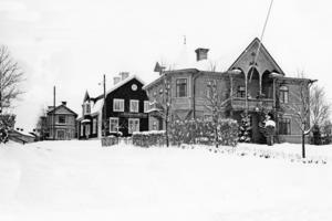 Det ursprungliga Källers uppfördes 1899-1901 och huset var signerat av byggmästare Olof Johansson.