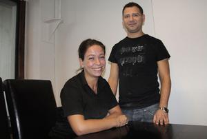 Maria och Nizar BenAissa ska driva restaurang Palladium tillsammans.