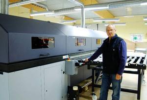 Sven-Bertil Widmark hoppas att de nya majoritetsägarna kan göra att man knyter till sig mera produktion  i framtiden. Foto: Håkan Degselius
