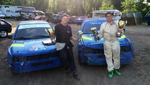 Rasmus och Martin Lundqvist från Fagersta MK.