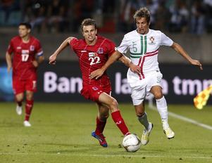 Fabio Coentrão, Real Madrid. Luxemburg–Portugal, VM-kval 7 september 2012, 1–2.         Gerson om Coentrão: