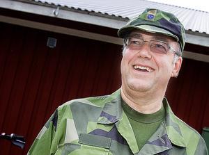 Ronald Forsberg, kommendörkapten och chef för Västernorrlandsgruppen inom Hemvärnet.