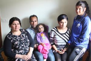 Bakisa Abdul Arab, Nemers sambo och mamma till Firdevs, Nemer Younis, Firdevs Younis, 3, Neda Younis, 18 och Eradet Younis, 15.
