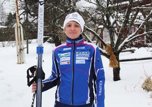 Sanna Lindblad från Sollefteå ska åka Vasaloppet med dockan Gudrun.