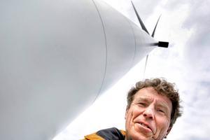 Hans-Erik Flodin, vindkraftprojektör