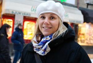 Anna Olsson, Östersund– Javisst, det är viktigt att gynna det lokala jordbruket.