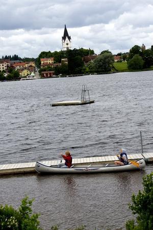 Paddling. Vad vore ett sommarläger utan att paddla kanot?