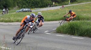 Cecilia Hansen, Fagersta, slutade trea i Uddevalla.
