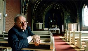 Don Riccardo Bulloni, katolsk kyrkoherde i Gävle i många år.