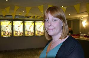 Karin Westin, koordinator och marknadsförare Film i Västernorrland.