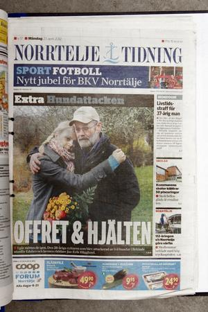 Norrtelje Tidning 23 april 2012.