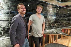 Så här såg det ut när Andreas Lundin och Mattias Pettersson var på väg att öppna Ölbaren och dåvarande Opium i Allstars gamla lokaler in Gävle. Nattklubben bytte sedermera namn till Olivia.