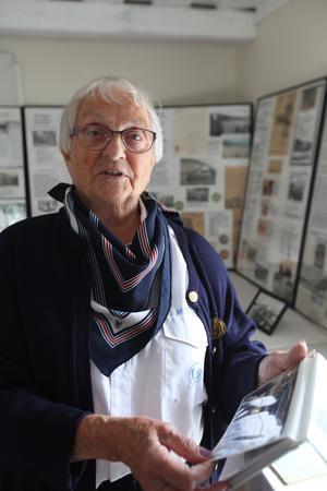 Hjördis Damstedt är dotter till Werner Westin och har jobbat med bussresorna sen hon var liten.
