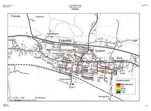 I Fränsta är många gator rejält eftersatta, enligt den undersökning som Ramböll har gjort på uppdrag av Ånge kommun.