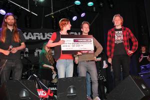 Lindebandet Walker vann distriktsfinalen och för nu representerar Örerbo-Värmland i Stockholm i juni. BILD: PETER TORMOD