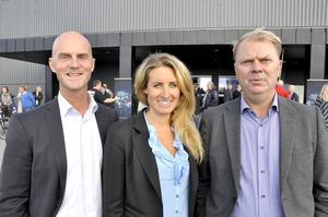 Björn Hemmingsson, Helene Kjellsdotter och Anders Wikberg är trion bakom Frösö Park Hotel.