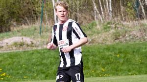 Kristoffer Nilsson hittade nätet i viktiga derbyt mot Kolsva. Foto: Arkiv