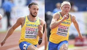 Tom Kling Baptiste och Johan Wissman lyckades inte nå en OS-bil