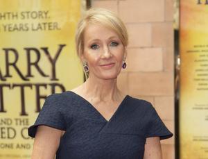 Harry Potters författare JK Rowling. Arkivbild.