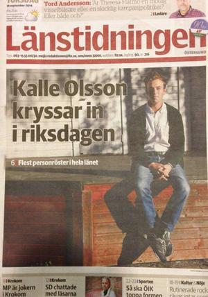 Varför är det så många annonser i LT, undrar Barbro Ericsson och får svar direkt från Länstidningens chefredaktör Viktoria Winberg.