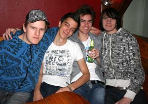 Konrad. Jokke, Tobias, Markus och Jonas