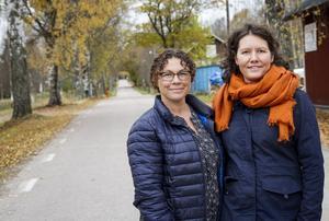 Susanne Rådlund och Åsa Berglund kartlägger Strömbackas historia och de fascineras av berättelserna om livet förr.