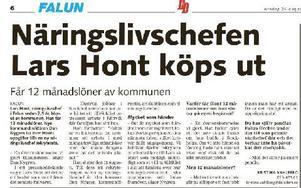 Artikel i DD publicerad den 24 augusti 2011. Foto: Staffan Björklund