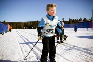 Västjämtska bjöd på fantastiska förhållanden med fin snö och strålande väder när flera hundra elever samlades på Järpens skidstadium för att tävla i längdskidåkning.