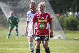 Malin Jonsson i Mohedtröjan.