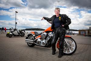 Maria Nordqvist är politisk sekreterare hos riksorganisationen Sveriges motorcyklister.