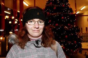 Therese Sjöberg, 24 år, Gävle, jobbar på Semea i Älvkarleby:– En julkorg med ost och korv.