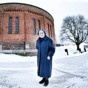 Margareta Hallin är svensk scenkonsts grand old lady. Nu förbereder sig operastjärnan för sin medverkan i Folkteaterns