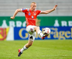 Tobias Eriksson känner att han har utvecklats, både som människa och fotbollsspelare.