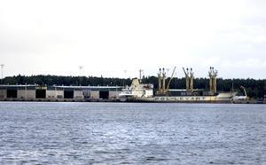 EU delar ut 37 miljoner kronor för att bygga magasin, järnvägsspår, kaj och hamnplan vid Granudden.