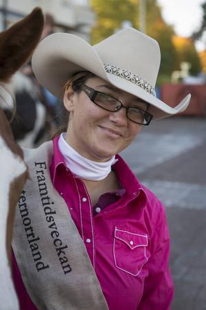 Jessica Knoster från Alnö var en av ryttarna som deltog.