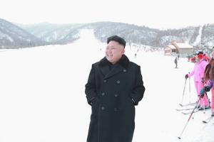Enligt uppgift ska Kim Jong Un ha fattat tycke för skidåkning under studier i Schweiz.