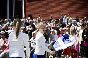 Nationaldagsfirandet på Möljen lockade en hel del folk.