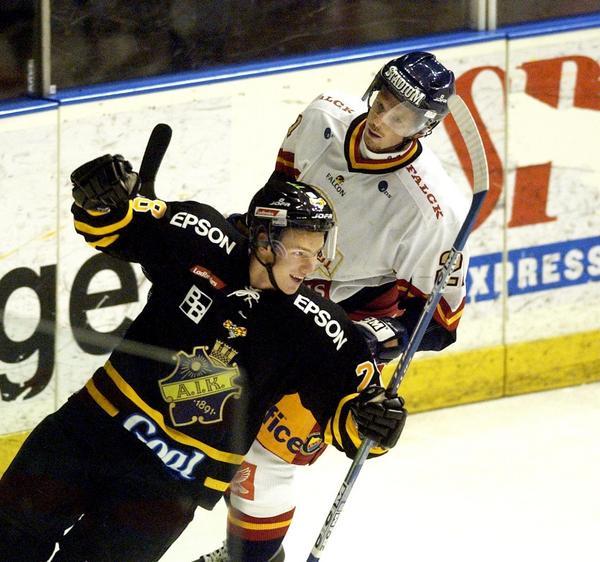 Andreas Frisk har varit en stabil elitspelare på svensk nivå som mestadels spelat på Hockeallsvensk nivå.