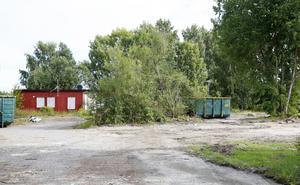 Några större markarbeten ska inte göras nu eftersom nya hus ska byggas här så småningom.