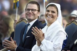 Kronprinsessans födelsedag firas traditionsenligt i tv den 14 juli. Arkivbild.   Foto: Mikael Fritzon/TT